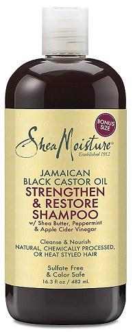 Shea Moisture Oil Shampoo