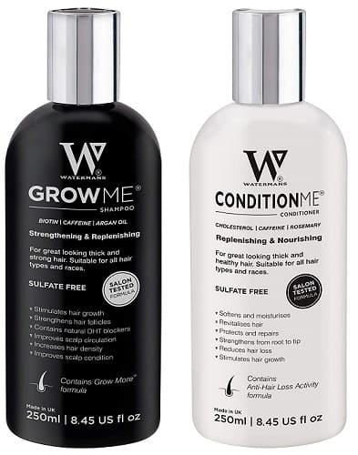 Watermans Hair Growth Shampoo and Conditioner set