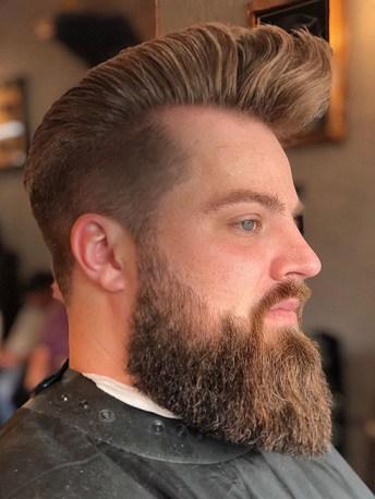 Coif and Bush Beard Style