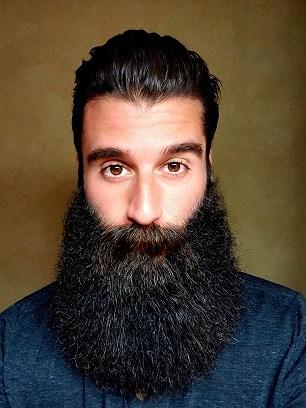 The Even Flow Long Beard Style