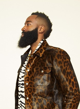 The Harden Long Beard Style