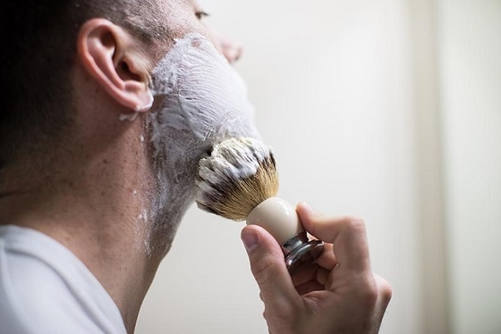Brush the lather onto your beard